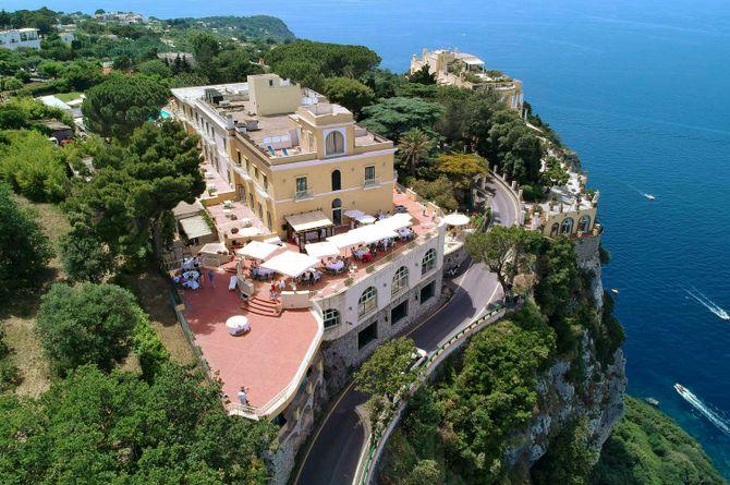 Hôtel San Michele, Golfe de Naples
