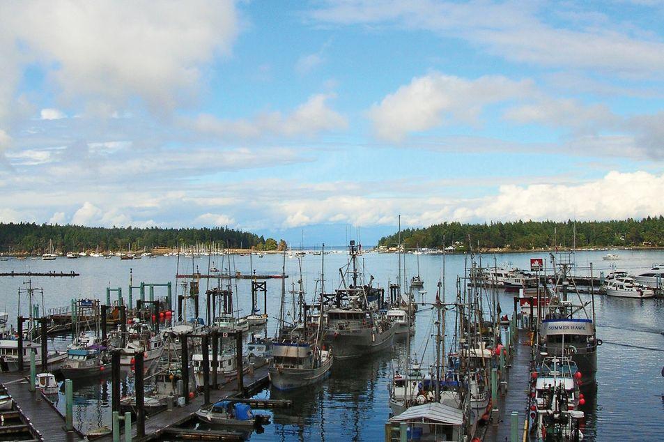 Nanaimo Hafen