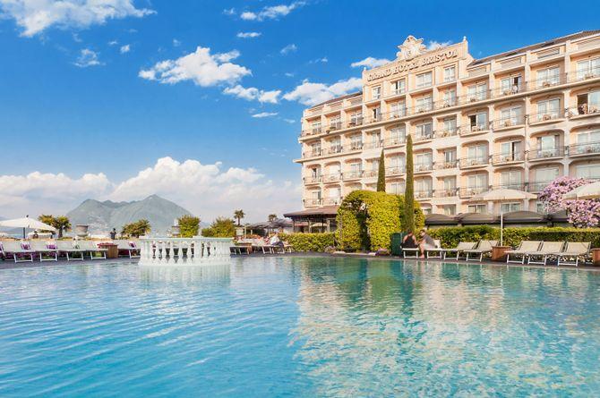 Grand Hotel Bristol, Lac Majeur (côté italien)