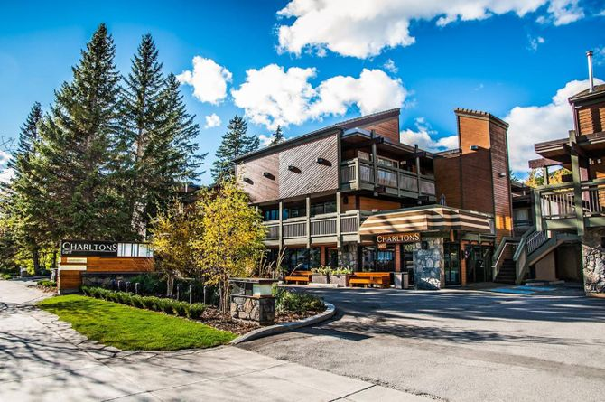 Charlton's Cedar Court, Banff