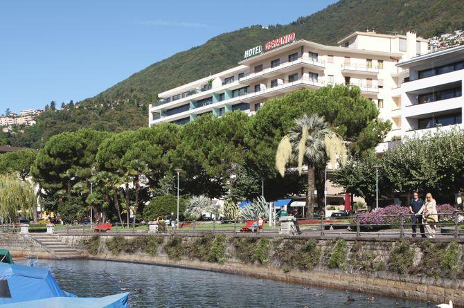 Hôtel Geranio au Lac, Lac Majeur (côté suisse)