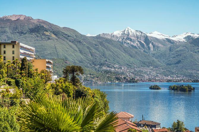 Parkhotel Brenscino Brissago, Lago Maggiore (Schweizer Seite)