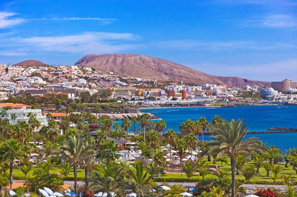 Blick auf Playa de las Americas