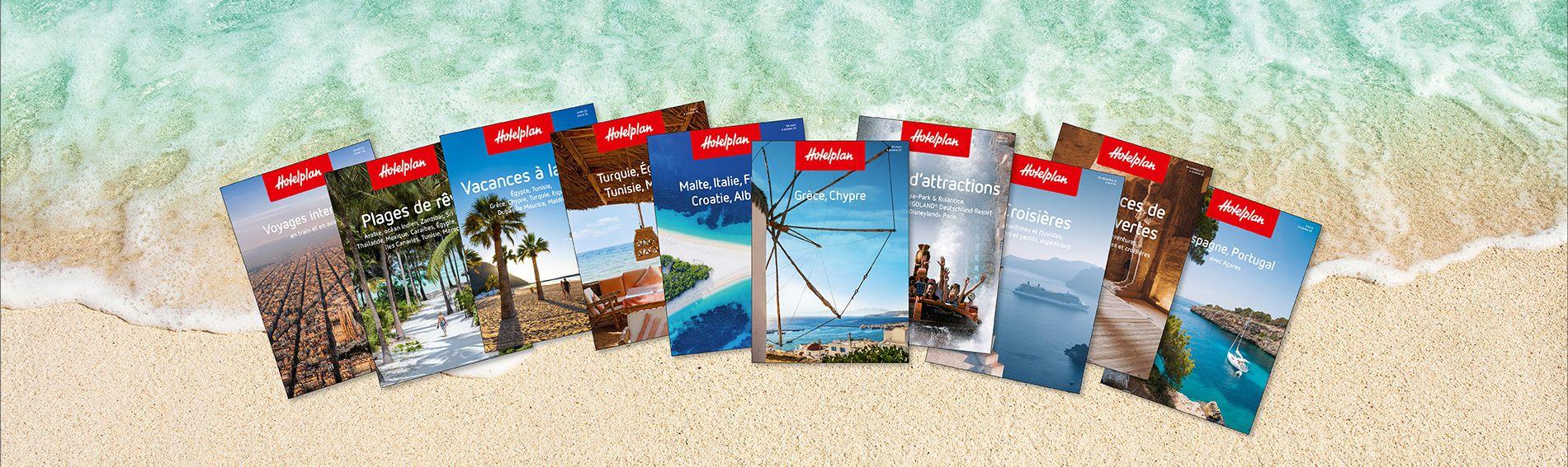 Brochures de vacances d'Hotelplan