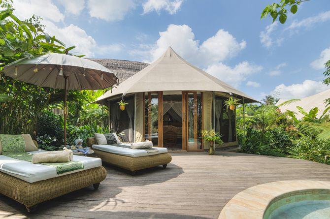 Sandat Glamping Tents, Bali