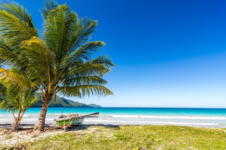 Plage magnifique en République dominicaine
