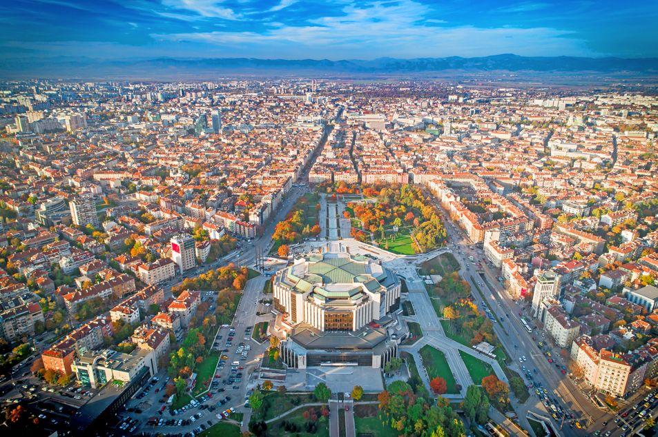 Nationaler Kulturpalast von oben