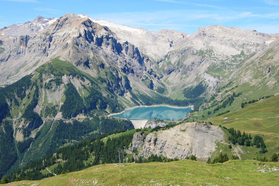 Bergpanorama von Crans-Montana