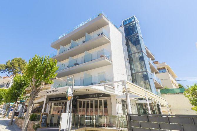 Diamante Hôtel, Majorque