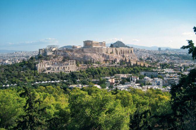 Athènes–Syros–Tinos–Athènes, Attique/Athènes