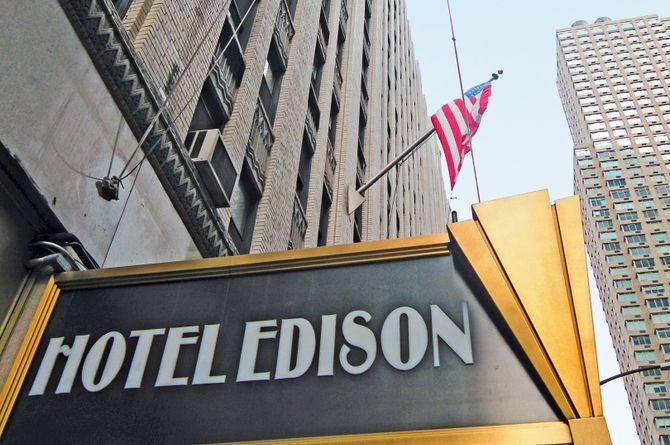 Hôtel Edison, New York City