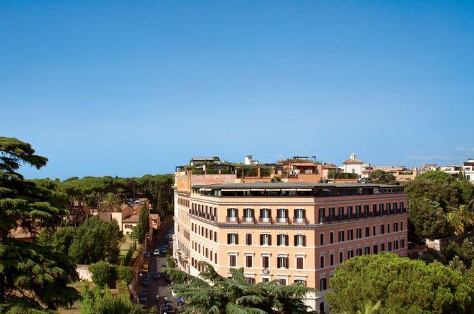 Hotel Eden (Rome), Province de Rome
