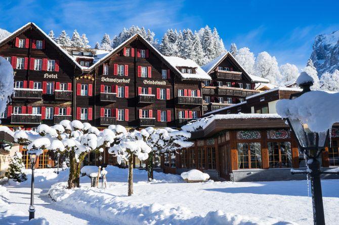 Romantik Hotel Schweizerhof Grindelwald, Région de la Jungfrau
