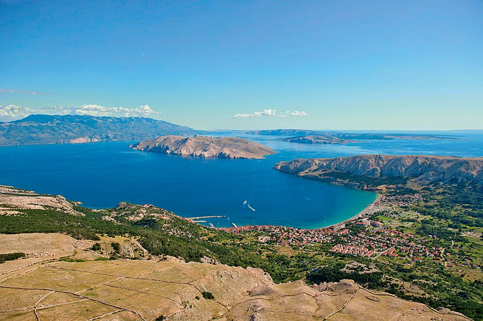 Photographie aérienne à Krk
