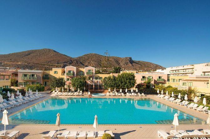 Silva Beach Hotel, Crète