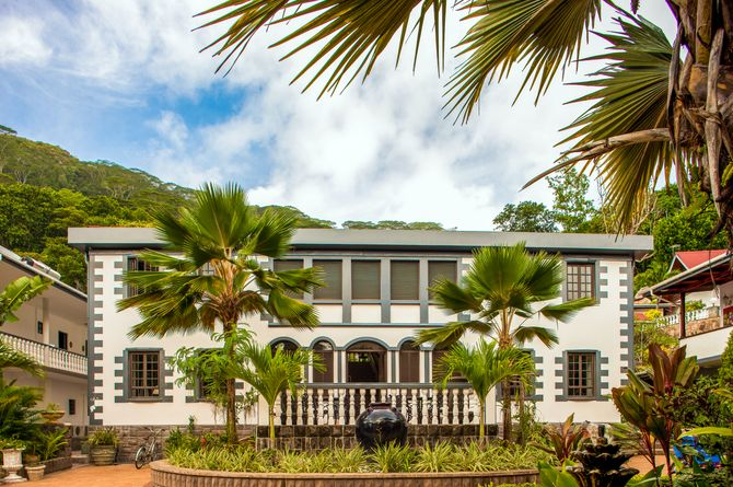 Chateau St Cloud, Seychellen