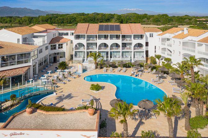 Les Bulles de mer Hotel & Spa sur la Lagune - Appartements, Languedoc-Roussillon (Südfrankreich)