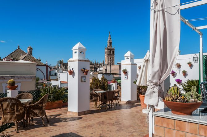 Hotel Murillo, Andalusien