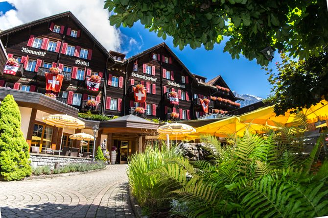 Romantik Hotel Schweizerhof Grindelwald, Jungfrauregion