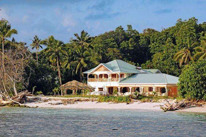 Villa de Cerf, Seychelles