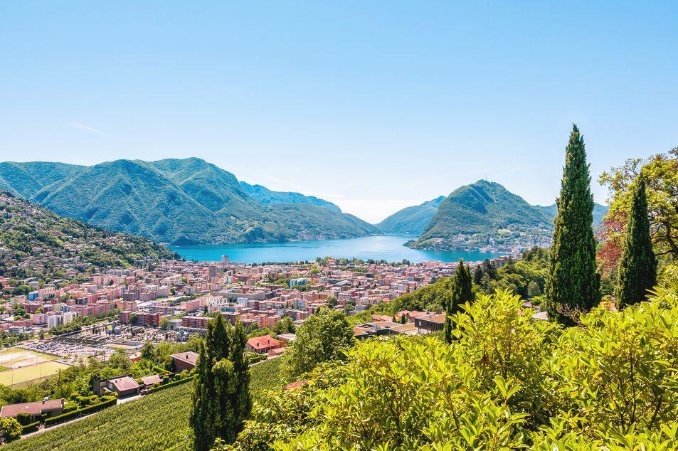 Lago di Lugano (Schweizer Seite)
