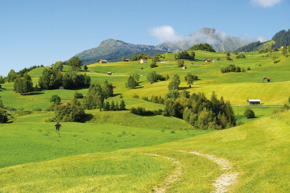 Sentier de randonnée dans l'Oberinnntal
