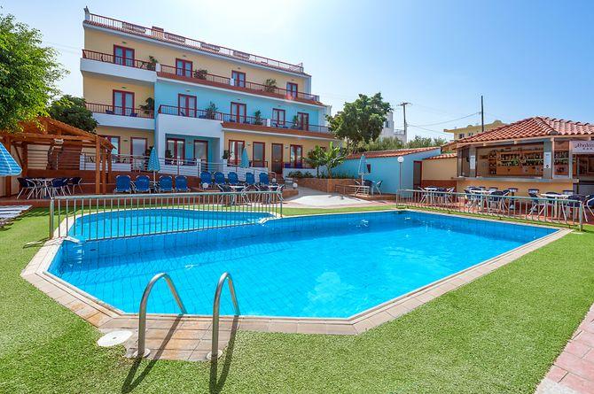 Thalassi Hôtel, Crète