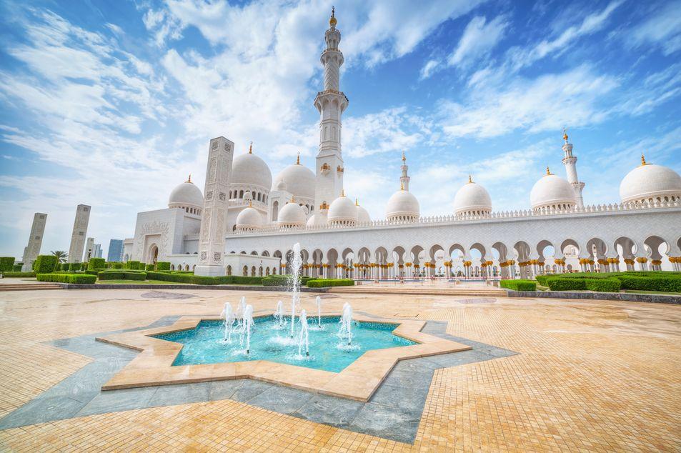 Sheikh Zayed Grand Moschee