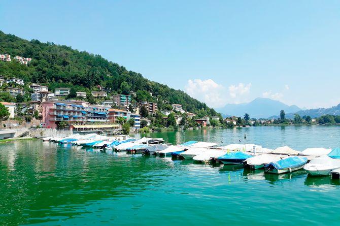 Hotel Tresa Bay (Ponte Tresa), Lago di Lugano (Schweizer Seite)