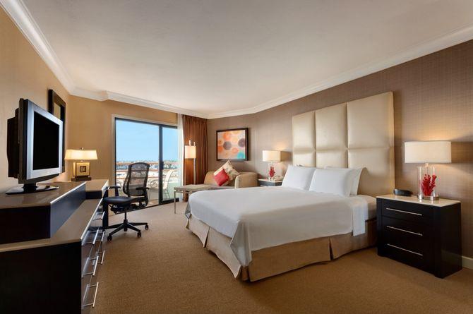 Hilton Waterfront Beach Resort, Los Angeles