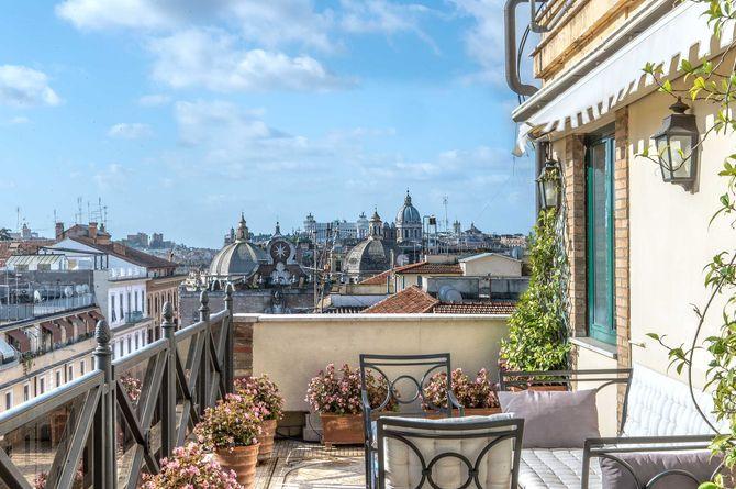 River Palace Hotel, Provinz Rom