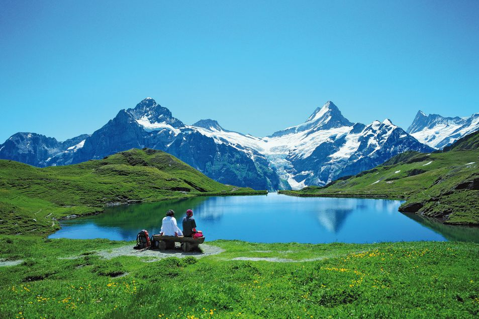 Lac de Bachalp, Suisse