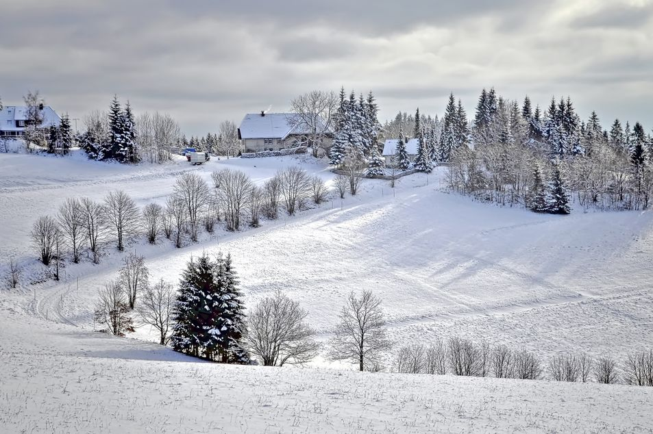 Dittishausen im Winter